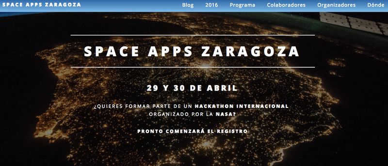 Space Apps Zaragoza Web