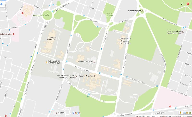 Google Maps - Ciudad Universitaria