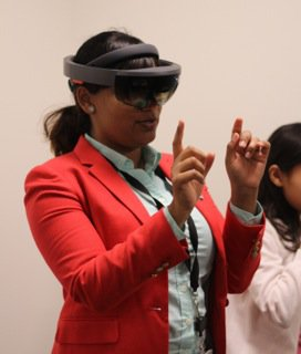 Shobhana ISSIE HoloLens