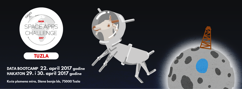 Tuzla goat in space